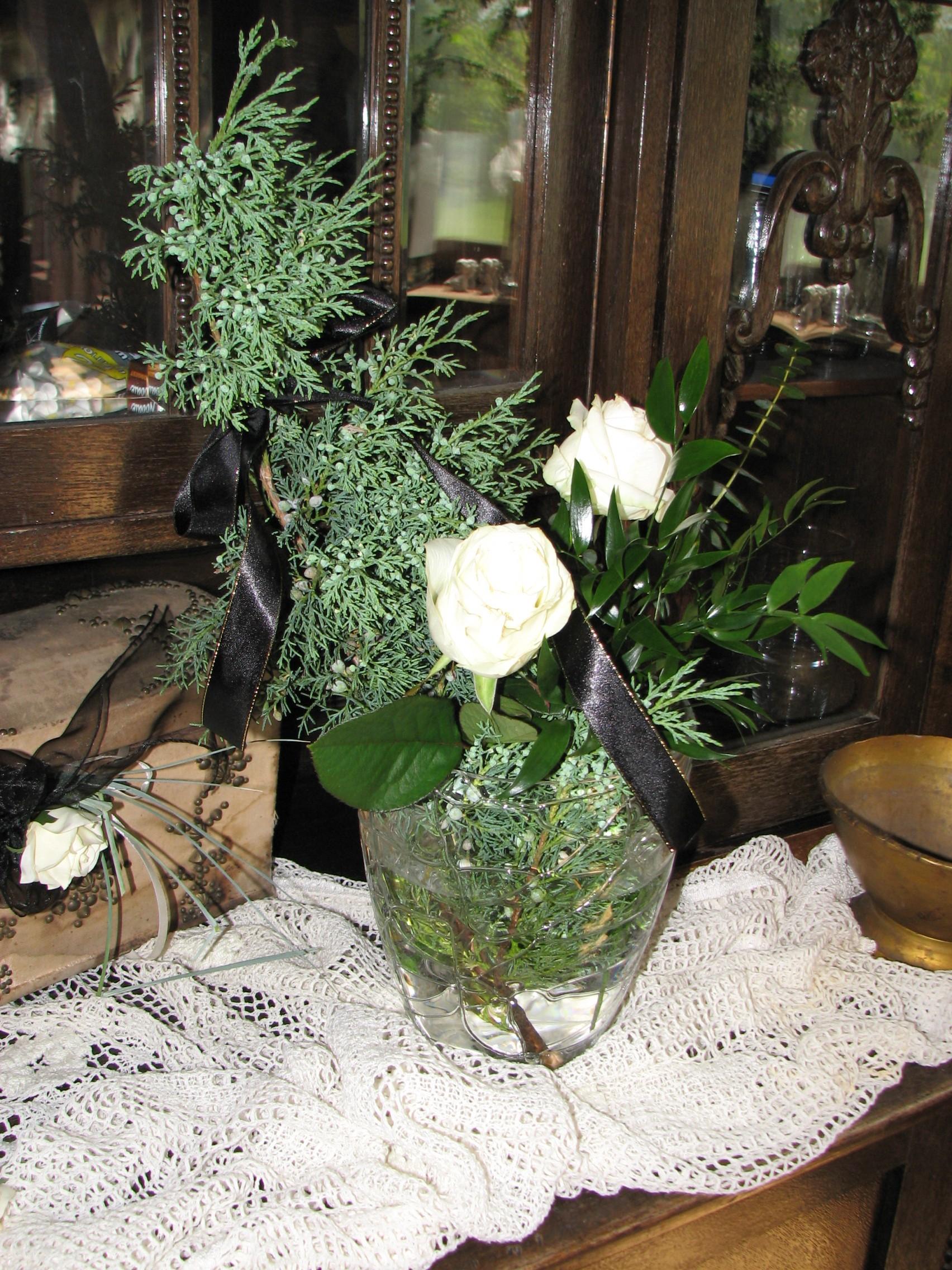 Żałobne róże