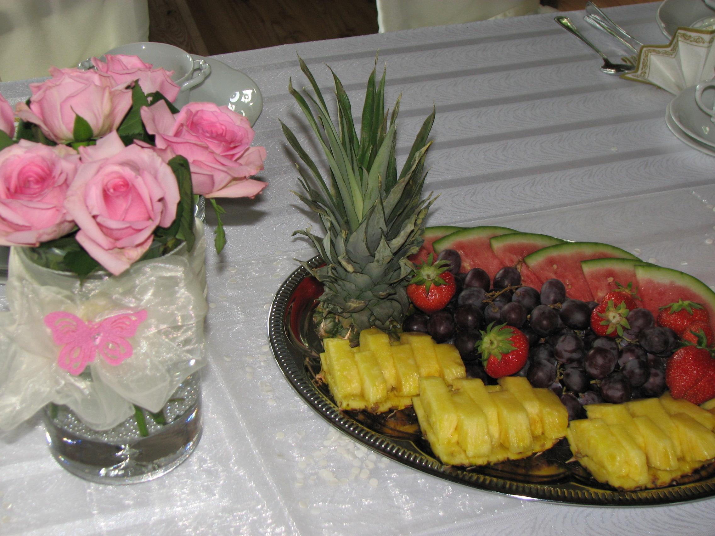 Owoce i kwiaty