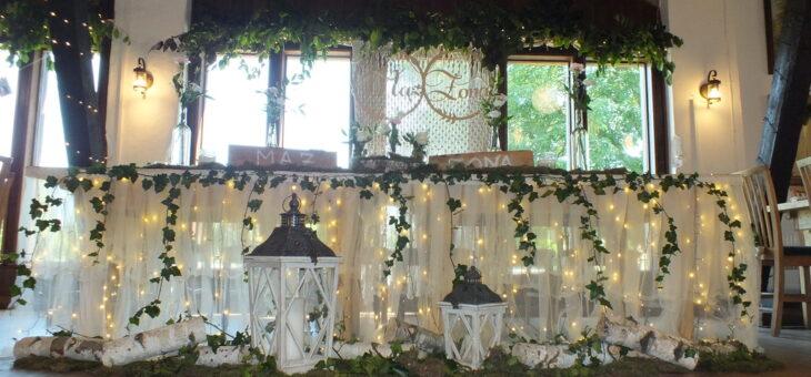 Biało-zielone wesele